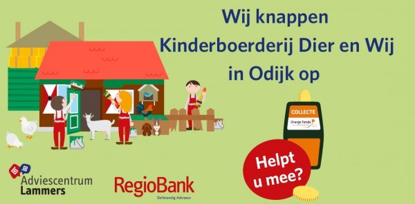 Wij knappen de Kinderboerderij in Odijk op.